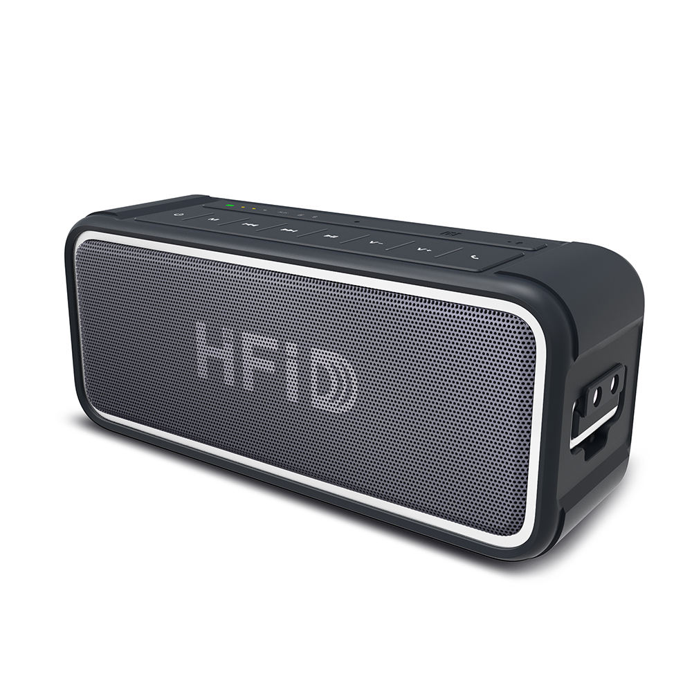 HFiD 25W Portable Wireless Speakers, BT Speaker with Enhanced Bass Resonator