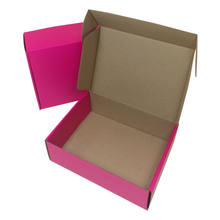 High quality Matt Colored Corrugated Mailing Boxes colorful packing & shipping & folding boxes