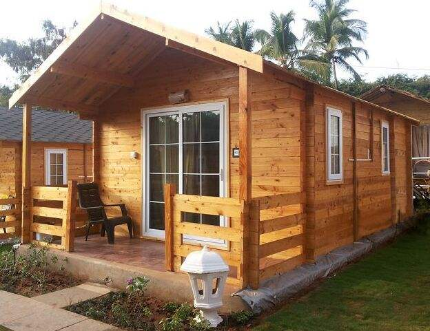 Hot selling prefabricated wood house for sale