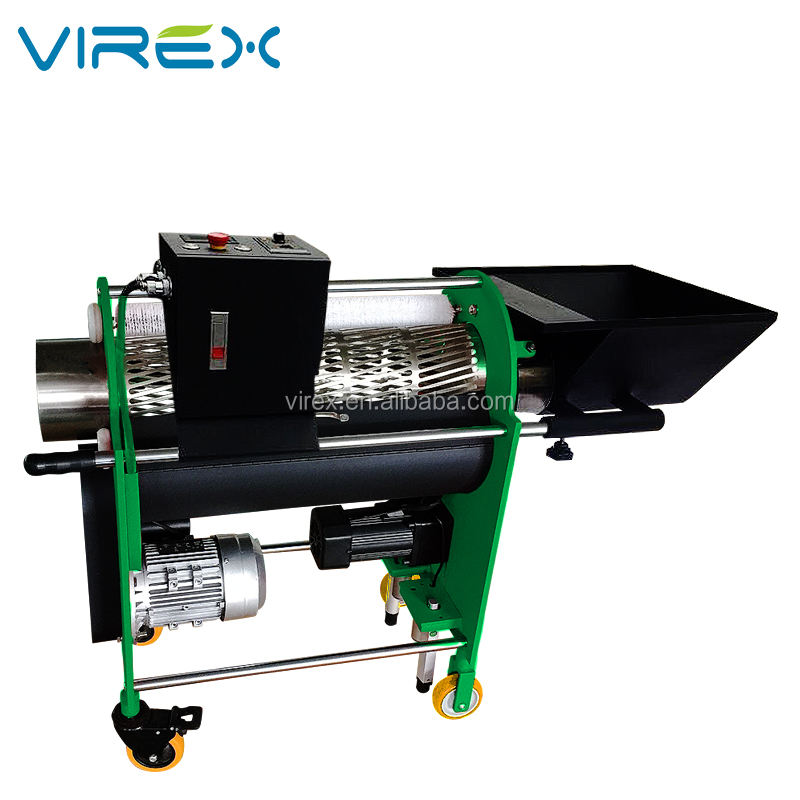 VIREX Professional manufacturer Hydroponics Automatic Commercial Twisted Y2 Wet Bud Leaf Trimmer
