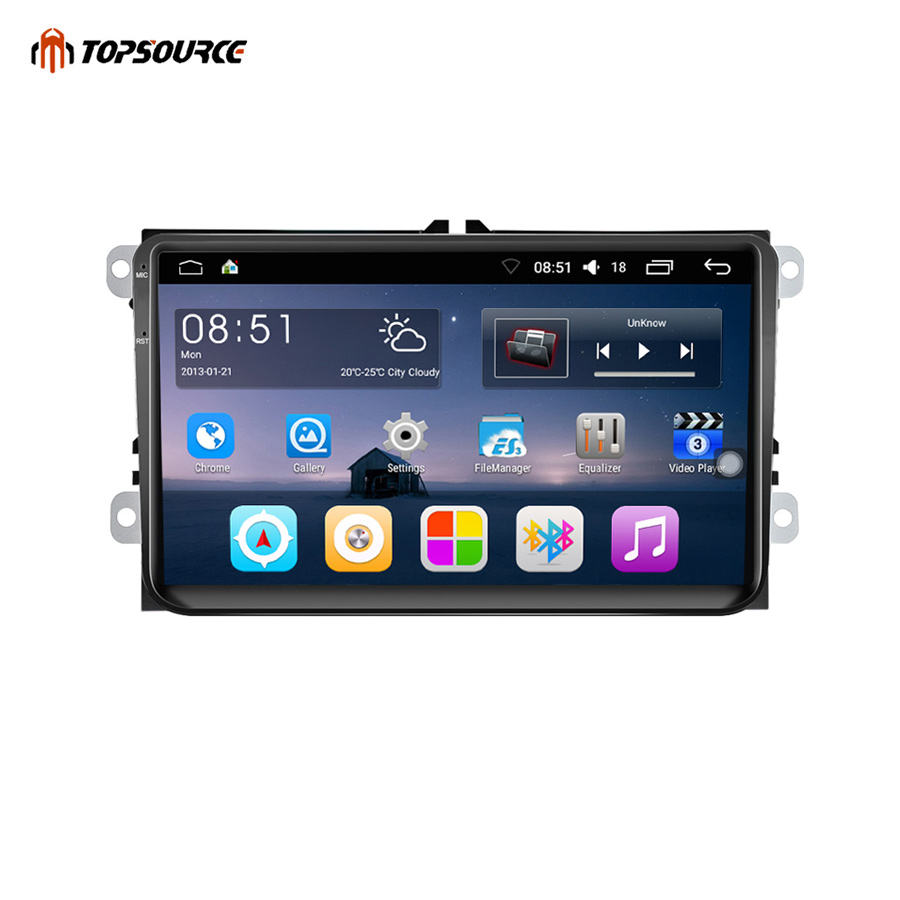 9001 Double 2 Din Car Radio GPS Android 9 Inch Wifi FM Mirror Link Touch Screen 800 X 480 Car Multimedia Player