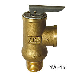 AKE Pressure Only relief valve with test lever