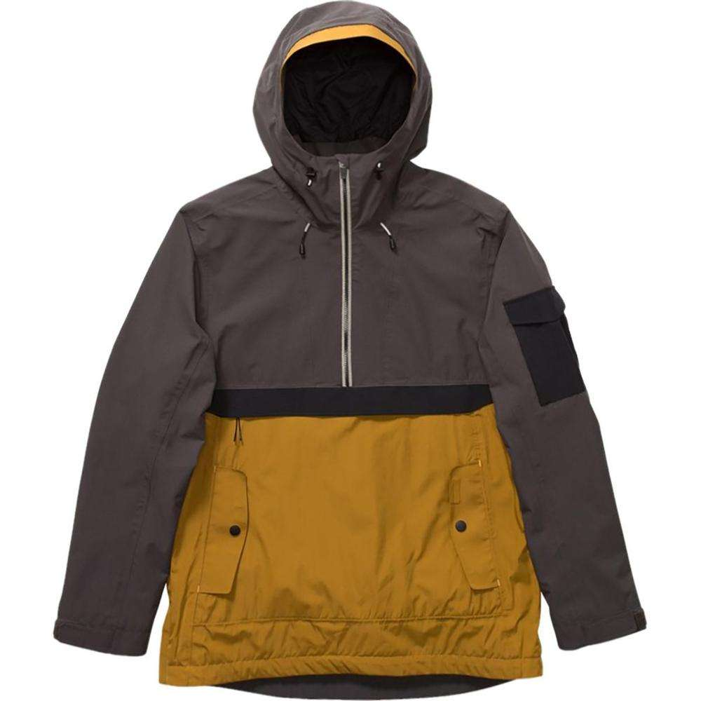Outdoor Clothing 100% Waterproof Stretch Ripstop Shell Pullover Snowboard Jacket Crane Ski Jacket Men