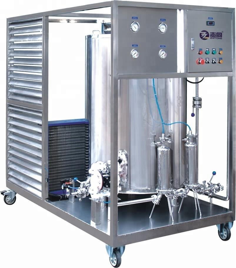 Guangzhou factory perfume making freezing filter production line