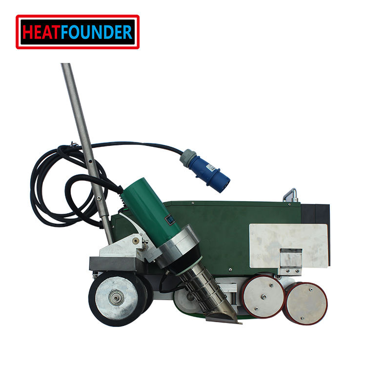 Automatic ZX7000 Roofing Hot Air PVC/TPO/EPDM Welding Machine For Plastic