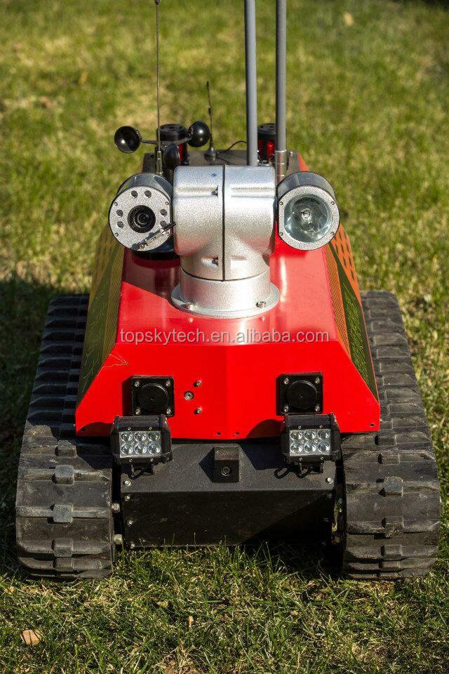 Противопожарное оборудование, Пожарная разведывательный робот RXR-C7BD