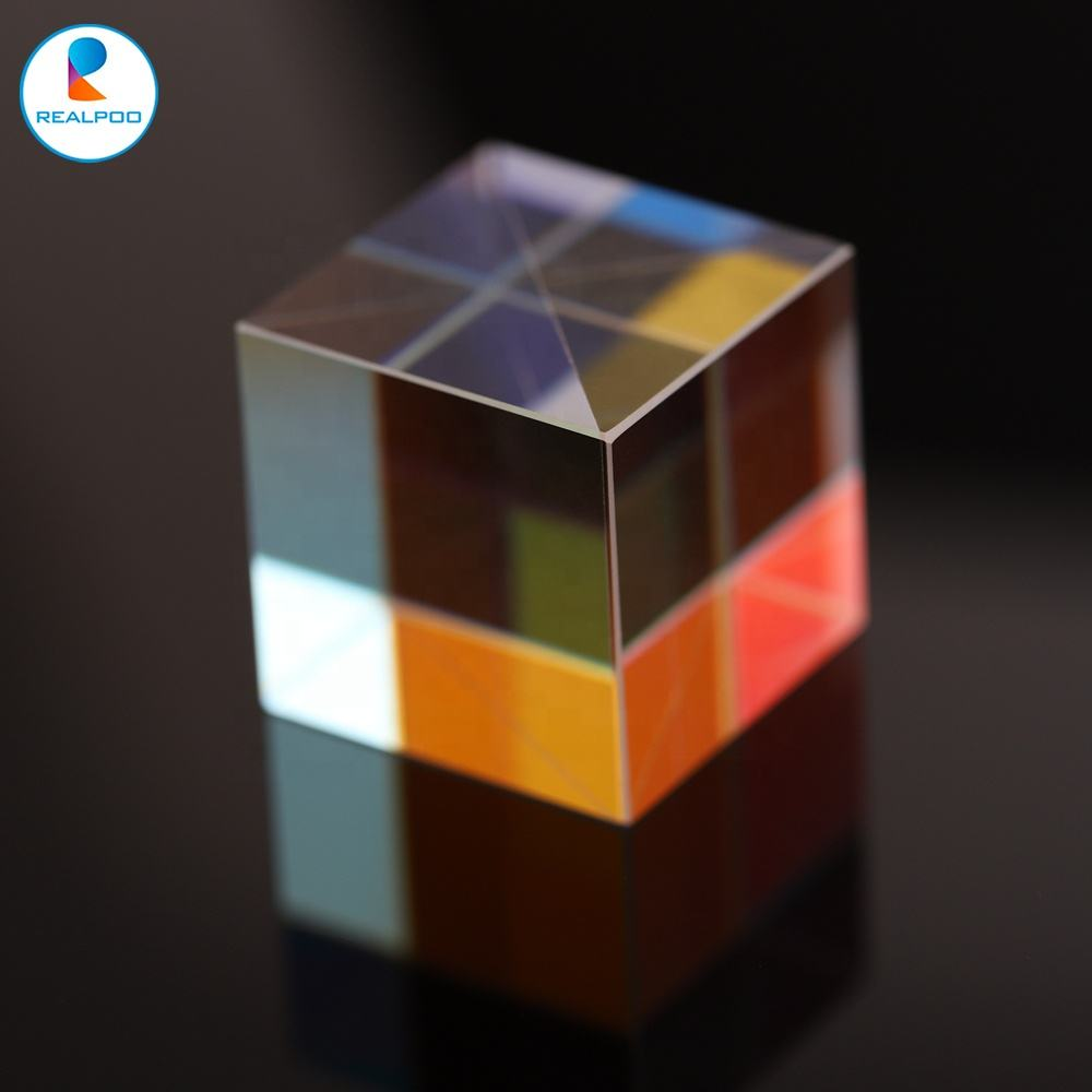 <span class=keywords><strong>Kaca</strong></span> Optik 25X25X25Mm Prisma Warna X-cube