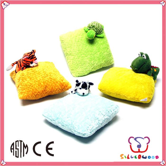 regalo di promozione morbido simpatico peluche cuscino del branello