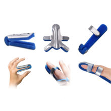 Waterproof Aluminium Medical Frog Baseball Finger Splints