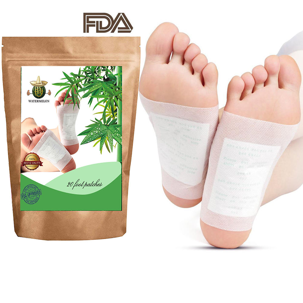 kinoki cleansing detox foot pads Natural Ingredients Chinese Herbal Foot Patch detox/foot pad