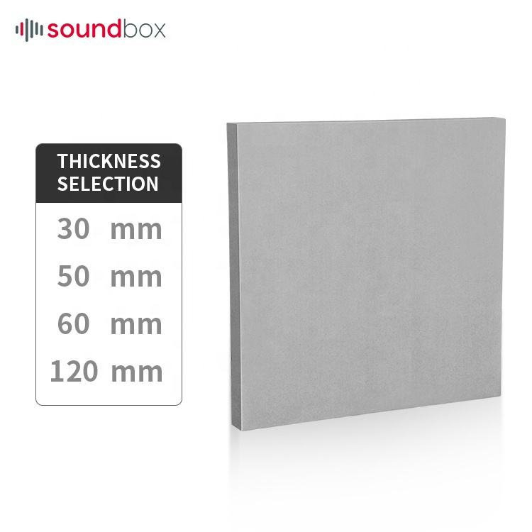 Custom size fabric acoustic panel sound absorber device for theater, recording room