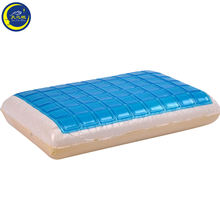 Meijie brand hot sale kids sleep comfort memory foam pillow with blue cooling gel memory foam pillow