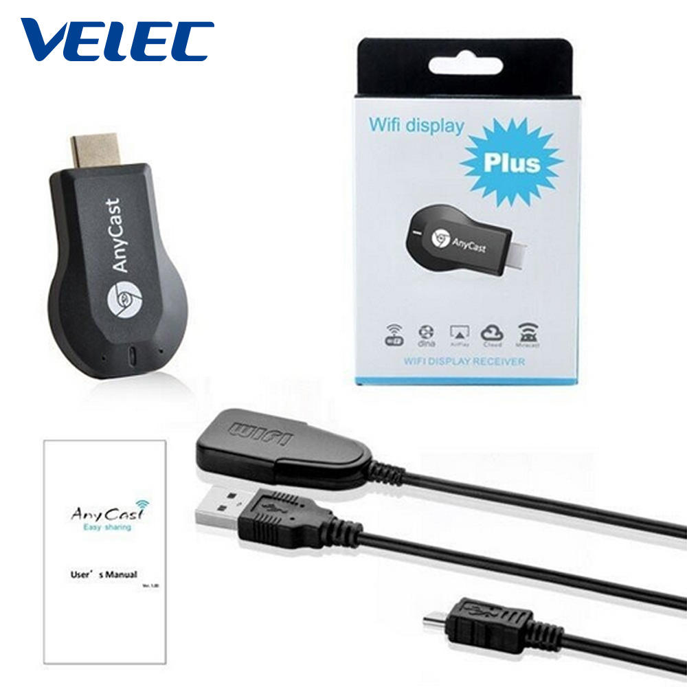 Excellent quality VELEC mobile devices used AnyCast M2 Plus ezcast dongle 4k anycast