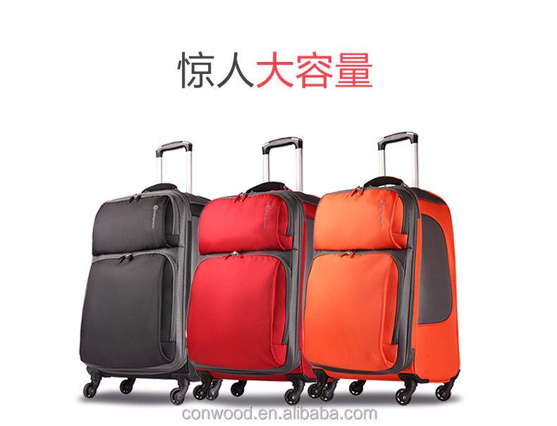 부하 큰 크기 부드러운 트롤리 가방 긴 시간 사용