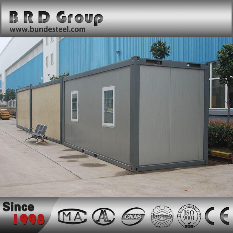 BRD современный роскошный дом контейнера со структурой стали