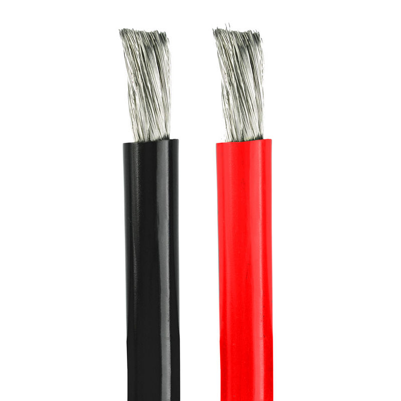 200 Degree celsius High flexible wire 2 AWG 4 AWG 6 AWG 8AWG tinned copper silicone wire cable