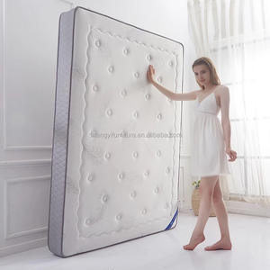 euro top sleep well king size 7 zone pocket spring mattress wholesale supplier