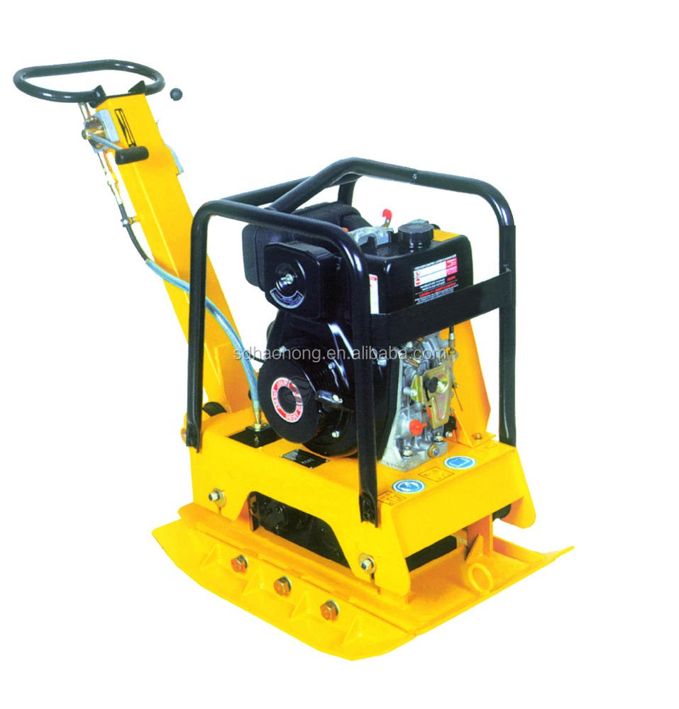 New type single direction vibratory/vibration asphalt plate compactor