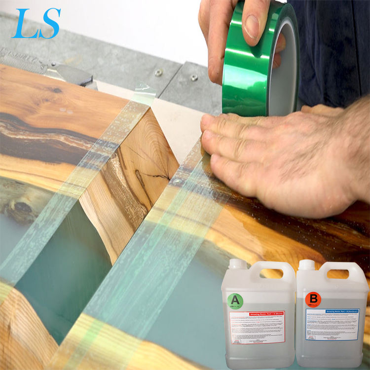 Wholesale Epoxy Resin Clear Liquid Crystal for Adhesive Glue AB Adhesive For Wood Casting Resin