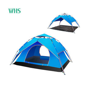 Outdoor ultralight travel Waterproof picnic beach tent cot double Quick Open Automatic Pop Up Tourist Family Camping tent
