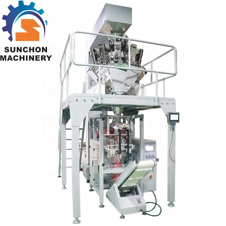 Multi-function packaging machine screw / nail packing machine with printing function