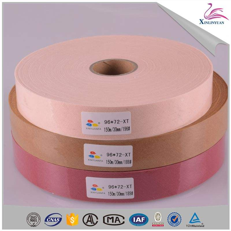 Hot sale silk piping bias tape by roll