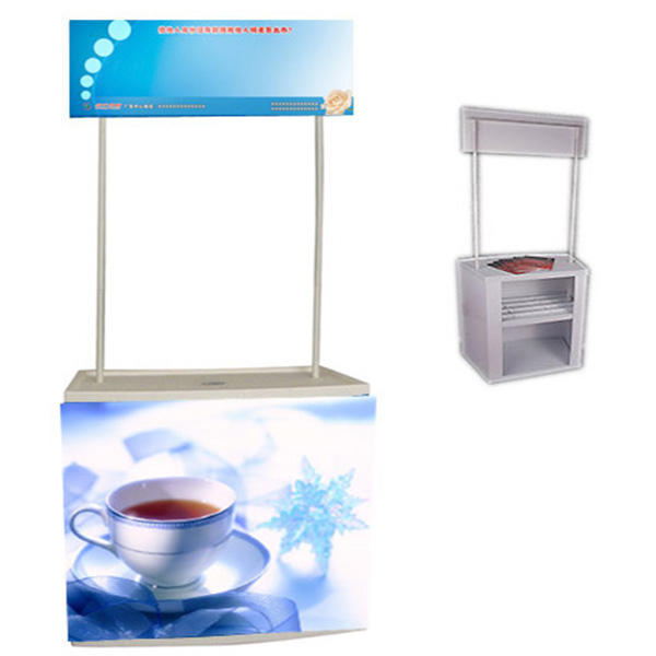 Custom PVC advertising promotion counter