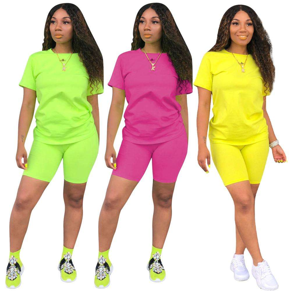 3779 women custom made sport set short set track suit biker short sets