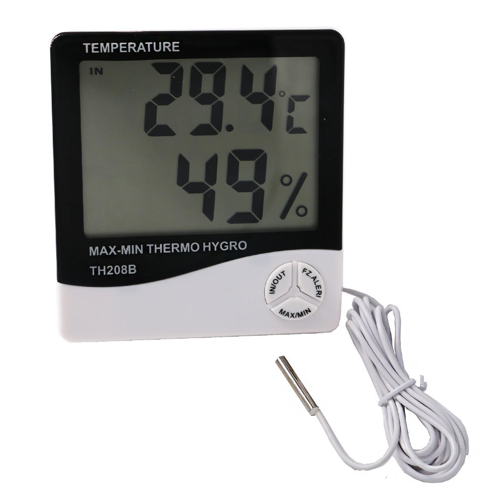 1Cm Cable Wind Direction and Outdoor Usage Weather Thermometer Hygrometer