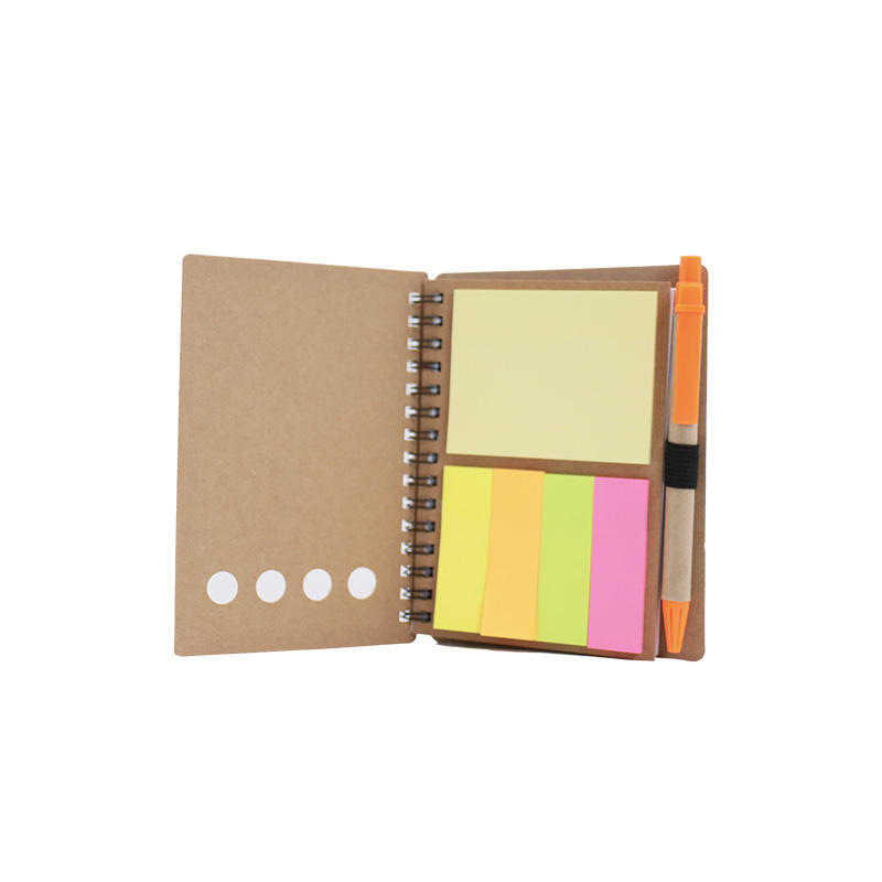 custom logo note book sticky notes corporate promotional gift set items for corporate clients
