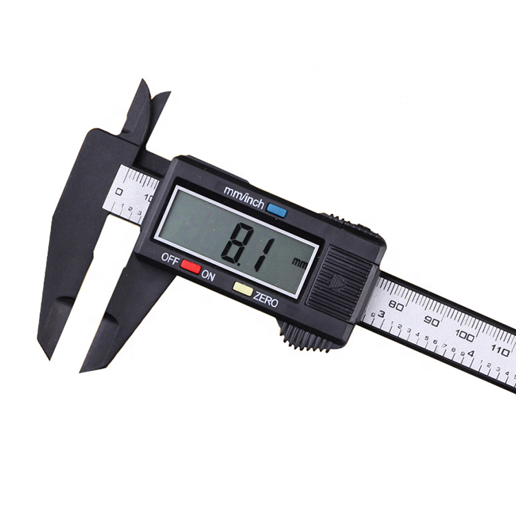 0-150mm High strength plastic electronic display vernier caliper