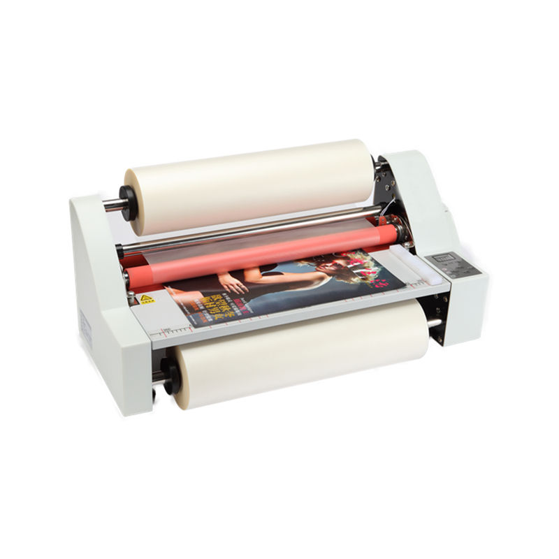 Hot Cold A3 Desktop Laminator Roll to Roll Laminating Machine For Bopp Film/Foil/Laminator Pouch Film