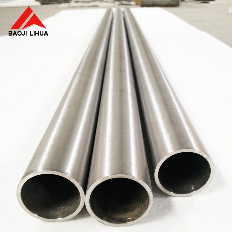 The common Gr1 Gr2 76mm 89mm titanium pipe for exchange equipment