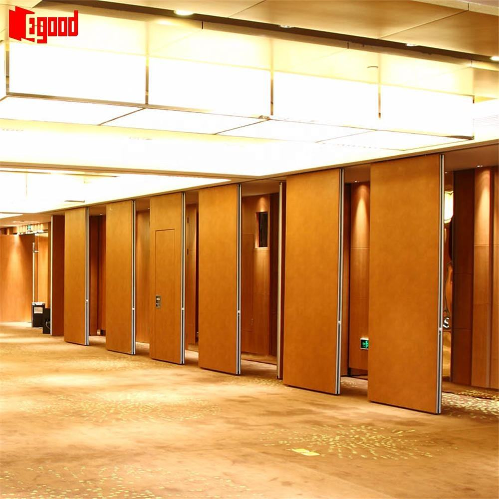 Kolkata sliding bifold movable partition wall acoustic panel with door