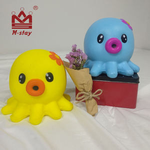 2019 New Octopus Jumbo 14cm Stress Relief toys slow rising animal squishy monster