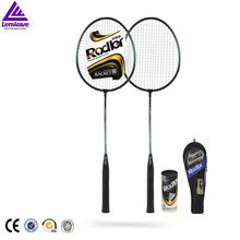 lenwave low price badminton racket set wholesale