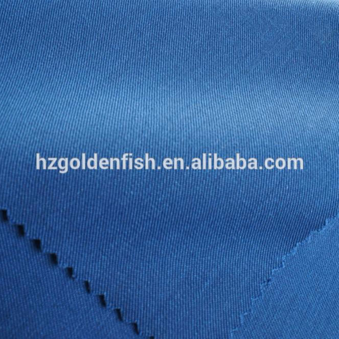 Solid Wool Gabardine fabric for suit 60% poly 40% Wool
