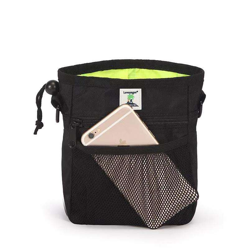 Lovoyagert Outdoor Reizen Taille Riem Nylon Dog Training Treat Bag Met Kak Zak Dispenser