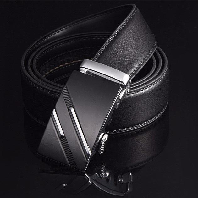 Wholesale Belt Men Top Quality Genuine Luxury Leather Belts for Men Strap Male Metal Automatic Buckle