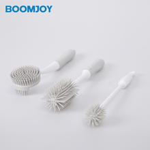 Bottle Brush - Bottle Scrubbing Silicone Kitchen Cleaner For Washing Glass