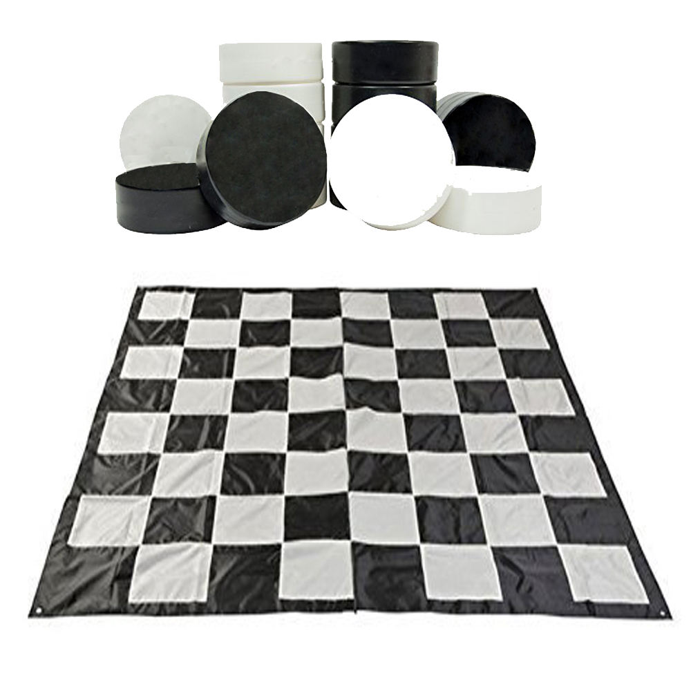 Pvc Opblaasbare Board Games <span class=keywords><strong>Checkers</strong></span> Set En Schaakbord