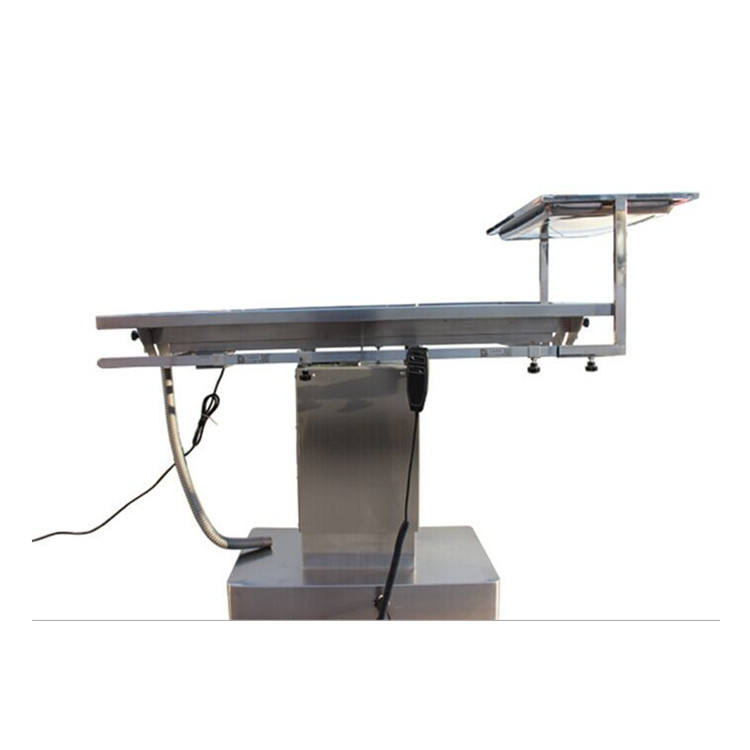 Stainless steel electric operating dog table for sale veterinary surgical table with constant temperature