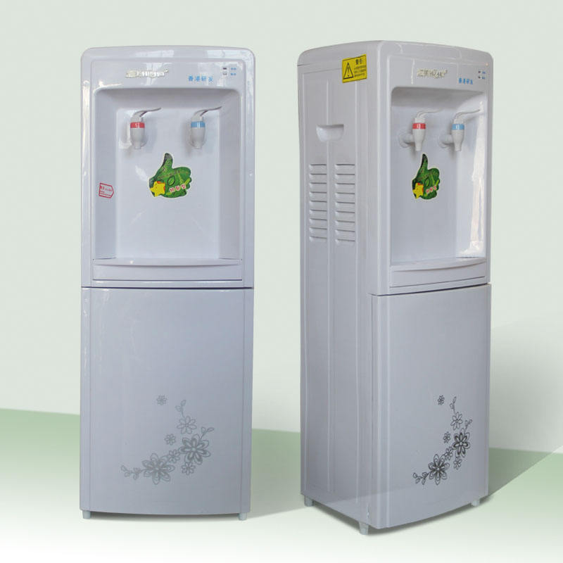 standing floor hot and cold electric drinking water dispenser with low price and beatuity shape produce in shunde