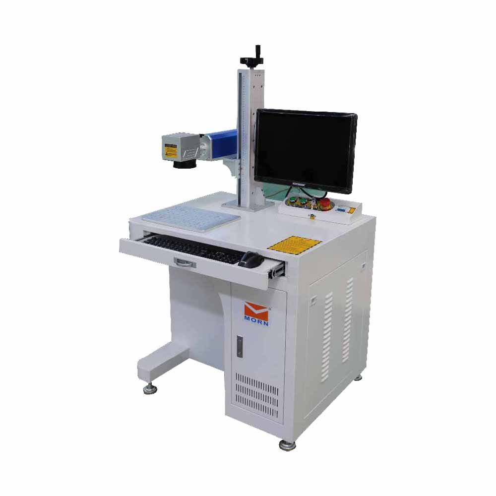 China Famous Color MOPA Fiber Laser Engraving Etching Marking/20W Laser Marking Machine/Fiber Laser