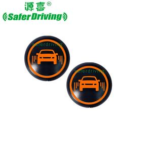 Newest Universal Automotive 24 천헤르쯔 Microwave Sensor LED 경고 빛, 뒤 BSD 눈 먼 Spot 을 Detection System XY-BS02-P
