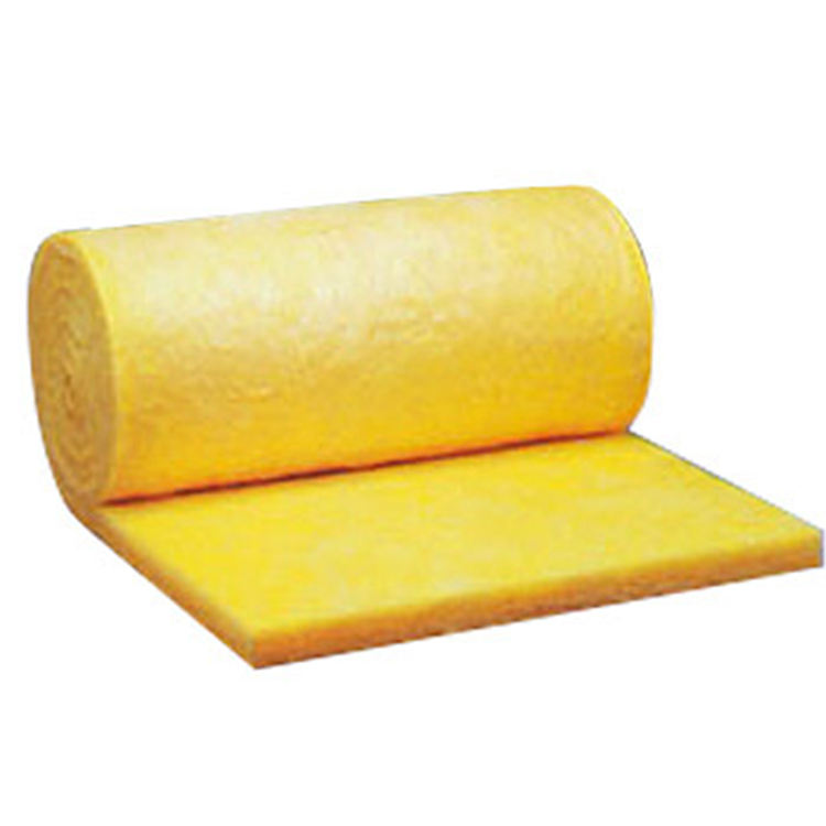 top sale flexible type thermal insulation wholesale 10kg 100mm Fiberglass wool roll mineral wool blanket with vinyl PVC