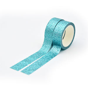 Washi Tapes Custom for DIY Planners Scrapbooking Adhesive School Party Supplies Glitter Washi Tape