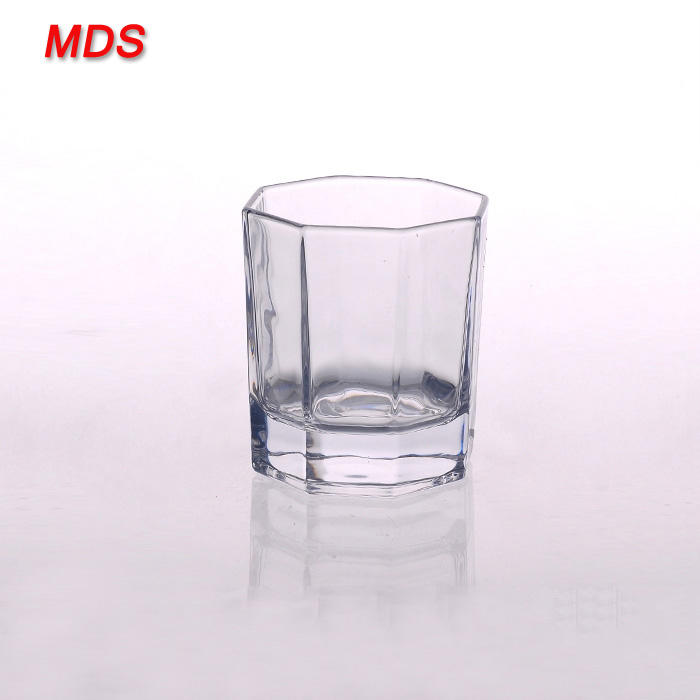 Stocked [ Manufacturers Glass Cup ] Glassglass Glassware Glassware Manufacturers Hexagonal Tasting Glass Cup For Sale