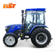 China cheap 50hp 60hp 70hp 80hp 90hp 100hp 4wd front end loader farm agricultural tractor with front loader 4wd for sale price
