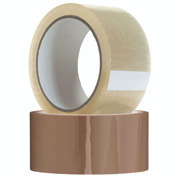 Custom Width BOPP Packing Tape Adhesive Clear Packing Cello Tape Transparent Tape with Custom size